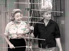 The Lucy Show in Lucy Puts Up a TV Antenna// This you got to watch, you'll laugh yourself silly
