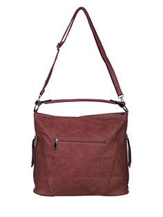 Shoulder bag with side zips wine red Rebecca Minkoff, Shoulder Bag, Bags, Purses, Shoulder Bags, Taschen, Totes, Hand Bags, Crossbody Bag