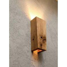 Diy Luminaire, Luminaire Mural, Wooden Lamp, Wooden Walls, Wall Wood, Wooden Wall Lights, Wooden Wall Decor, Rustic Lamps, Rustic Wood