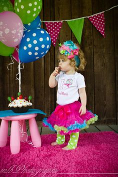 Sale Lollipop Birthday Number Pettiskirt Set with by avannabelbaby