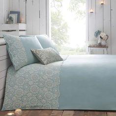 RJR.John Rocha Blue 'Aurora' bed linen- at Debenhams.com