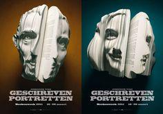 Geschreven Portretten, los libros con rostro 3