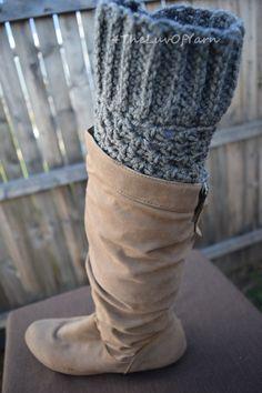 Boot Cuffs women Crochet boot cuff Boot Cuff Set by 4TheLuvOfYarn