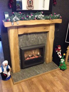 A great picture of one of our Rustic Oak Fire Surrounds a year on. We think it looks awesome but we want to know what you think. Leave us a comment in the box below ;) -Pete