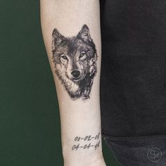 #wolftattoo Tattoo shared by svenrayen