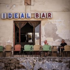 transport me to another time and place, ideal bar #retail #bar #storefront