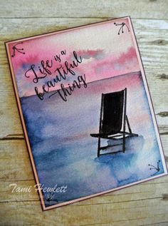 Colorful Seasons - Life Is A Beautiful Thing | Swimming In Stamps