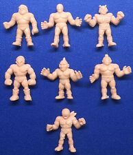 1980s  M.U.S.C.L.E. Men Lot of 7 Flesh Action Figures!