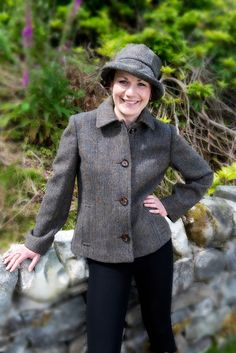 Shortie Harris Tweed jacket.  Will literally last you forever.