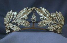 Cartier tiara belonging to princess Marie Bonaparte