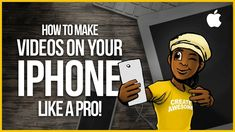 How to Film Videos on Your iPhone Like a Pro!!!      How to Film and Edit Videos on Your iPhone. Filming Professional Videos on Your iPhone is actually pretty easy! I'm going to show you how to make videos with... https://www.youtube.com/watch?feature=youtu.be&utm_campaign=crowdfire&utm_content=crowdfire&utm_medium=social&utm_source=pinterest&v=XlpdnMUXmw8
