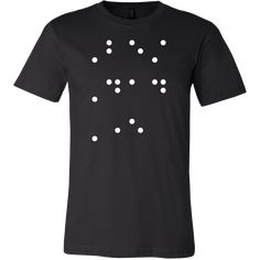 Best Dad Ever in contracted Braille Men Short Sleeve T Shirt - TL00684SS