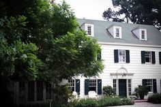 Love the shutters on this colonial