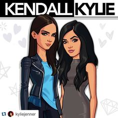 So exciting! Can't wait to download this!! #proudmama #Repost @kyliejenner  It's coming... ;) #kendallkyliegame #krisjenner #krisisms