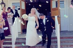 {Real Curvy Wedding} Gold, Ivory and Blue Long Beach Island Wedding by Vanessa Joy Photography