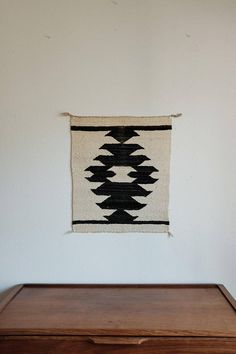 Mid 20th Century Antique Navajo Weaving / Wall Hanging /