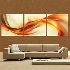"""! nuevo! moderno abstracto enorme pared decoración arte pintura al óleo sobre lienzo """"SIN MARCO"""""""