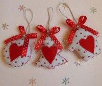 Moldes gratis de figuras navideñas en fieltro06
