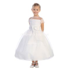 Organza First Communion Dress