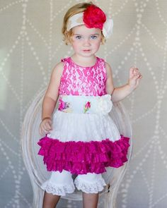 "Giggle Moon ""Living Water"" Tutu Dress w/Shorties Two Piece Set *PREORDER*"