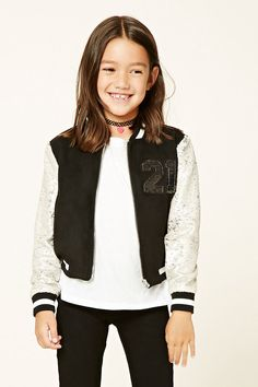 Girls Varsity Jacket (Kids)