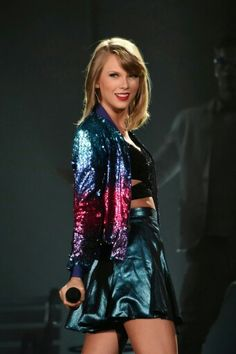 Colorful Taylor Swift costume