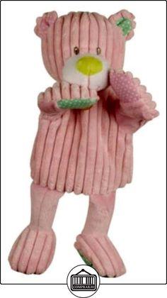 Babynat - Doudous et Peluches - Pantin marionnette bébé - Doudou Ours rose - Velours - 30 cm  ✿ Regalos para recién nacidos - Bebes ✿ ▬► Ver oferta: http://comprar.io/goto/B00ILVDXTK