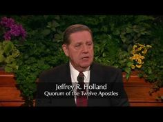 """Elder Jeffrey R. Holland """"Lord, I Believe"""" The Church of Jesus Christ of Latter-day-Saints Conference Talks, General Conference, Mormon Channel, Mormon Messages, Elder Holland, Later Day Saints, Scripture Study, Daughter Of God, Heavenly Father"""