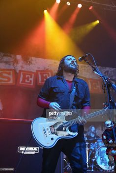 Shaun Morgan of Seether performs at the Susquehanna Bank Center May 16, 2015 in Camden, New Jersey.