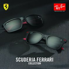 Ray-Ban x Scuderia Ferrari // A dynamic collection for those who aren't afraid to set the pace