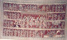 Kalamkari paintings - Lepakshi | Andhra Pradesh Handicrafts