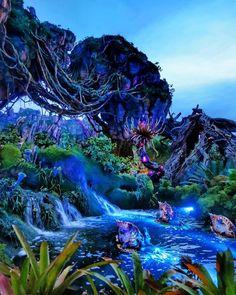 Avatar Disney World, Disney World Florida, Disney World Trip, Disney Vacations, Disney Parks, Pandora Disney World, Avatar Land, Walt Disney, Disney World Pictures