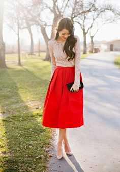 http://www.cichic.com/catalog/product/view/id/49823/s/red-plain-pleated-high-waisted-vintage-satin-skirt/