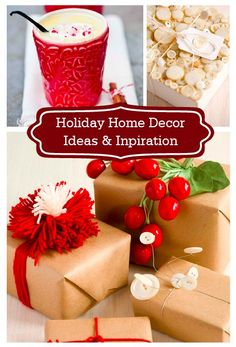 Before you start decorating for the season, don't miss these Holiday Home Décor Ideas and Inspirations—perfect for turning your home into a festive, winter wonderland!