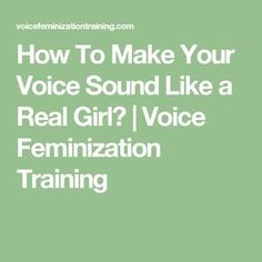 How To Make Your Voice Sound Like a Real Girl? Transgender Tips, Male To Female Transformation, Job Security, I Can Do It, Your Voice, Sounds Like, Girls Be Like, Tgirls, Things To Know