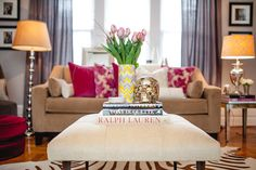 House Tour: Chic and vintage inspired living room