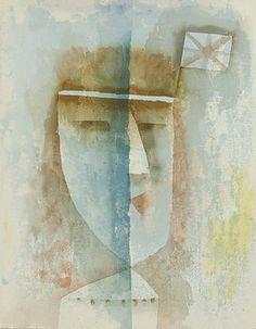 Paul Klee: Beflaggtes Mädchen. 1929. K