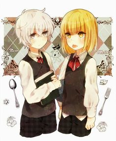 Death Note - Young Near and Mello