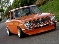 Check out this classic Toyota Corolla!  #Enkei #Custom #Classic
