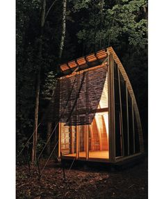 It's all about the curve.  An adventure journal weekend cabine aerie loft