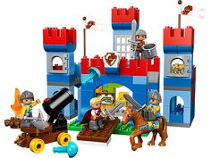 Raid the castle and take the King's treasure!