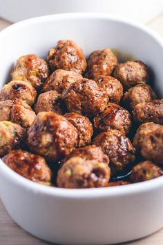 Teriyaki kødboller opskrift Greek Recipes, Wine Recipes, Asian Recipes, Cooking Recipes, Ethnic Recipes, Tapas, Vegetarian Recipes, Healthy Recipes, Good Food