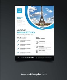 business flyer with abstract design flyers pinterest business flyers mockup and graphics