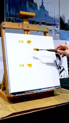 Canvas Painting Tutorials, Acrylic Painting Techniques, Diy Canvas Art, Painting Lessons, Art Lessons, Art Drawings Sketches Simple, Art Painting Gallery, Creative Art, Amazing Art