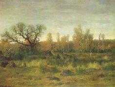Podzim ve Fontaineblau, Antonín Chittussi