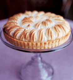 Lemon Meringue Tart, from Ina Garten.