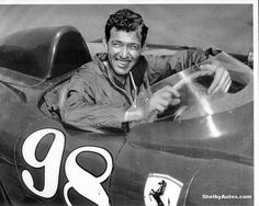 Carroll Shelby, driving for Ferrari who he ultimately despised, said all Ferrari cared about was winning races, not at all concerned about the safety of his drivers. Ferrari, Shelby Car, Race In America, Carroll Shelby, Road Racing, Auto Racing, Vintage Race Car, Car And Driver, Staying Alive