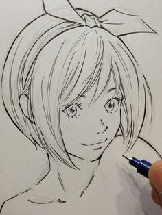 """Beautiful """"Realistic"""" Manga. They did a very nice job on the lineart too. So clean and smooth."""