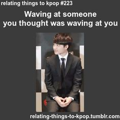 Waving at someone you thought was waving at you: { #kpop   #DO   #Exo  }