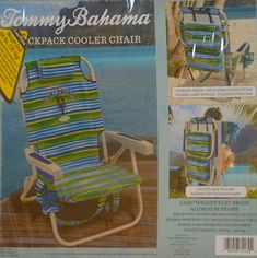 e32f1ac8fc29 Tommy Bahama Backpack Cooler Chair -Striped Review Camping Furniture